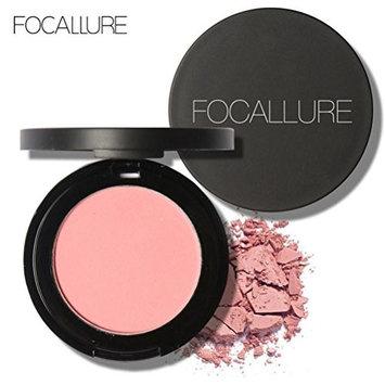 Binmer(TM) FOCALLURE Repair Capacity Powder Block Blush Exquisite Rosy Gloss Fine Outline