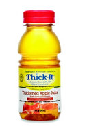 Kent Elastomer Products Thickened Beverage Thick-It AquaCareH2O 8 oz. Bottle Apple Ready to Use Honey, Case of 24 6 Pack