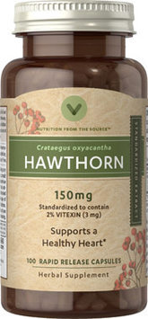 Vitamin World Hawthorn Berry Standardized Extract