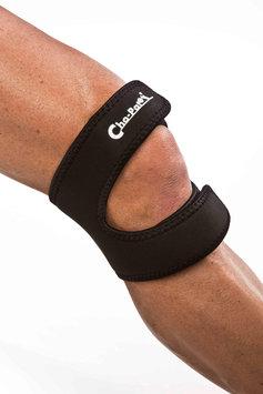 Cho-Pat Dual Action Knee Strap Black Large-1 Large Each