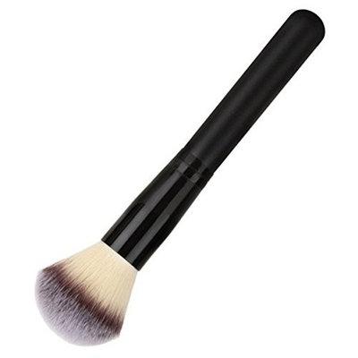 1 Pcs Makeup Brushes Set Wood Handle Powder Fiber Soft Face Make Up Tool Professional Natural Beauty Palette Eyeshadow Beautiful Popular Eyes Faced Colorful Rainbow Hair Highlights Glitter Travel Kit