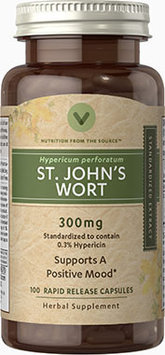 Vitamin World St. John's Wort 300 mg Standardized Extract
