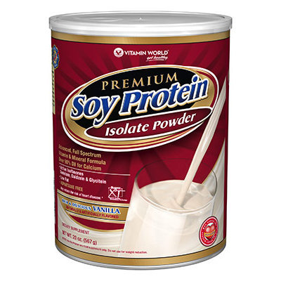 Vitamin World Premium Soy Protein Vanilla