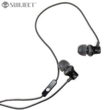 SUBJEKT AMP'D Earphones with Microphone - Grey