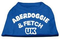 Ahi Aberdoggie UK Screenprint Shirts Blue Lg (14)