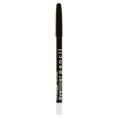 L.a. Colors Cosmetics White #612 L.A. Colors Smudge Free Smooth Long-lasting Eyeliner Pencil