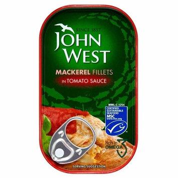 John West Mackerel Fillets in Tomato Sauce (125g)