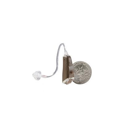 General Hearing GHI Simplicity Premier OTE Hearing Aid, Right (Brown)