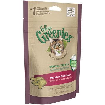 Feline Greenies™/MC Succulent Beef Flavor Cat Dental Treats