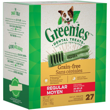Greenies™ Regular Grain Free Dog Dental Dog Treats