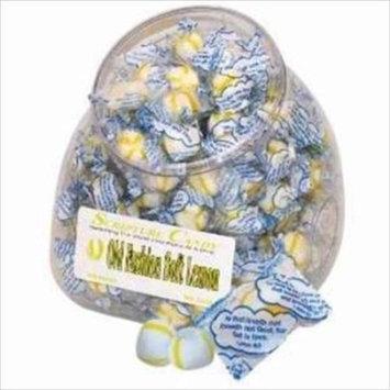 Candy-Scripture Soft Lemon Counter Jar