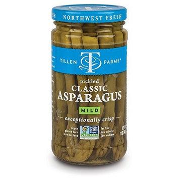 Tillen Farms Veggies, Pickled Crispy Asparagus, 12 Ounce (Pack of 4) by Tillen Farms