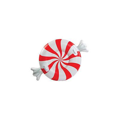 Big Mouth Snow Tube - Peppermint, Multi-Colored
