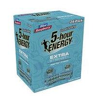 5 Hour Energy 5-hour Energy Shot, Extra Strength Blue Raspberry (1.93 oz. ea, 24 pk.)