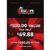 Escape Countdown - 1 x $100