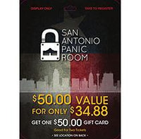 Texas Panic Room - 1 x $50