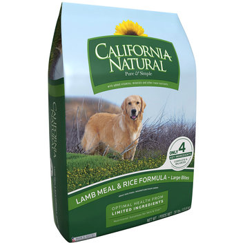 California Natural Lamb Meal & Rice Formula Large Bites Dog Food