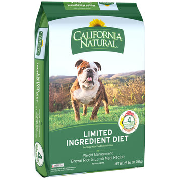California Natural™limited Ingredient Diet Weight Management Brown Rice & Lamb Meal Recipe Dog Food