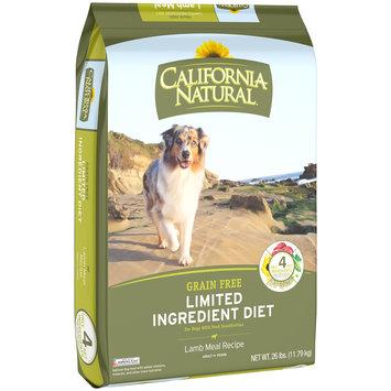California Natural™ Grain Free Limited Ingredient Diet Lamb Meal Recipe Dog Food
