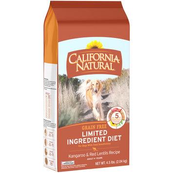 California Natural™ Grain Free Limited Ingredient Diet Kangaroo & Red Lentils Recipe Dog Food