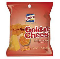 Lance Gold-N-Chees Snack Crackers, 1.25 Oz Single Serve Bag