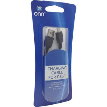 ONN ONA12MG014 6 Feet Charge Cable for Playstation 3