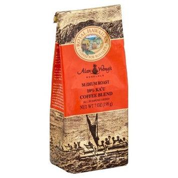 Royal Hawaiian 10% Ka'U Blend Medium Roast Ground Coffee - 7oz