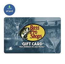 Incomm Bass Pro Shops $25 Gift Card (email delivery)