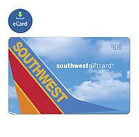 Incomm Southwest Airlines $100 (Email Delivery)