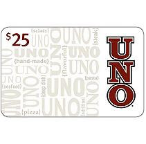 Uno Chicago Grill $50 Multi-Pack - 2/$25 Gift Cards