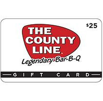 County Line Gift Card - 2 x $25