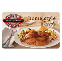 Boston Market $50 Multi-Pack - 2/$25 Gift Cards