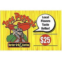 Jose Pepper's Marketplace $50 Multi-Pack - 2/$25 Gift Cards