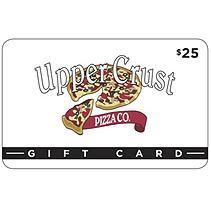 EV UPPER CRUST PIZZA $50 MP 2 X $25