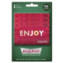 Krispy Kreme - 3 X $10