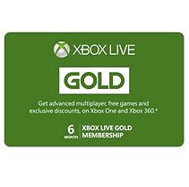 Interactive Communications Microsoft - Xbox Live 6 Month Gold Membership