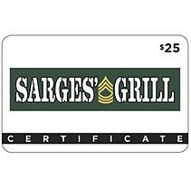 Sarges' Grill - 2 x $25 for $40