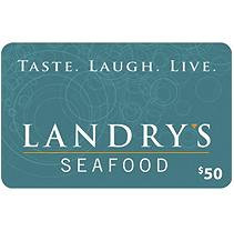 Landry's - 2 X $50 plus $20 bonus
