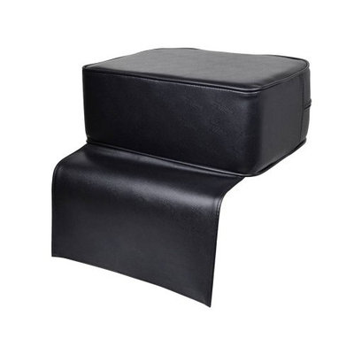 TMS Black Barber Beauty Salon Spa Equipment Styling Chair Child Booster Seat Cushion