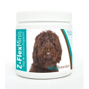 Healthy Breeds 840235110415 Labradoodle Z-Flex Minis Hip & Joint Support Soft Chews - 60 Count