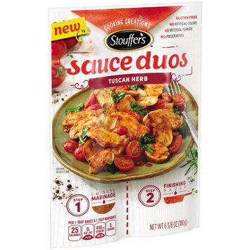 Nestle Usa/stouffer's Entrees STOUFFER'S Cooking Creations Tuscan Herb Sauce Duos 6.38 oz Pack