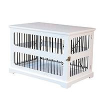 Zoovilla Slide Aside Crate And End Table, White