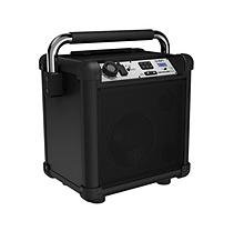 Ion Audio Job Rocker Plus Portable Heavy-Duty Jobsite Speaker System, Black, Refurbished