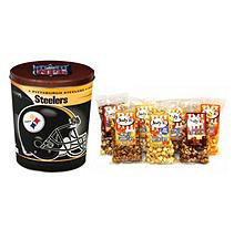 Jodys Popcorn Pittsburg Steelers Popcorn Tin