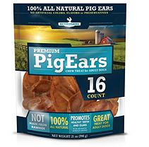 Betsy Farms Premium Pig Ears Chew Treat for Adult Dogs (16 ct.)