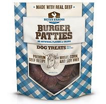 Betsy Farms Burger Patties Dog Treat (40 oz.)