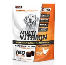 VetIQ Multi-Vitamin Soft Chew, Chicken Flavor (180 ct.)