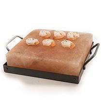 HIMALAYAN CHEF Salt Cooking Plate Gift Set 8X8X2