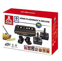 Atari Flashback 8 Deluxe with 105 games, 2 Wired controllers and 2 Wired Paddles