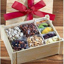 Golden State Fruit Healthy Indulgence Dried Fruit & Nuts Gift Crate